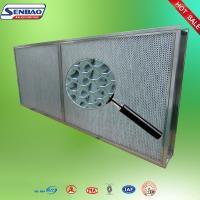 SUS High Temp Hepa Filter High Efficiency Portable Air Filter