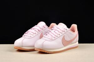 China Nike Cortez  classic jogging shoes female shoes pink shoes sneakers athletic shoes cheap in stock on sale