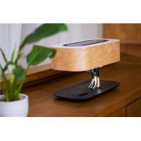 Tree Design Led Table Lamp Wireless Charger , Wifi Speaker Oem Led Desk Light