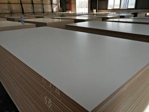 Factory of MDF BOARD Furniture grade melamine faced mdf manufacturer