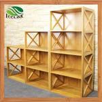 La Chine a adapté l'étagère aux besoins du client en bambou naturelle moderne de conception pour les enfants (EB-91356)