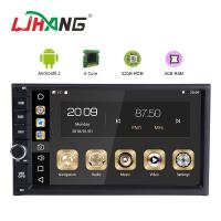 China Built In Wifi Pure Android In Dash Car Dvd Player , Touch Panel Cd Dvd Player For Car on sale