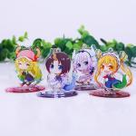 Wholesale custom acrylic standee anime figure printed acrylic keychain
