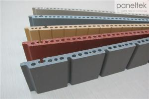 Quality Colorful Exterior Facade Panels F18 , Constructed Terracotta Building Material for sale