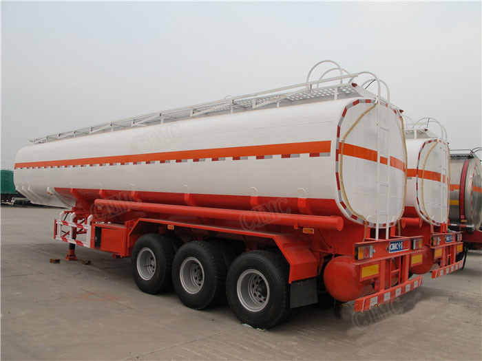 3 axle petrol tanker truck price tank semi trailer for sale for sale