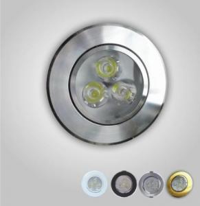 China Energy Saving E27 1W LED Spot Light Bulbs E27 Natural White for Bathroom or Bedroom 45 lm on sale
