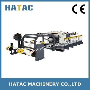 China Rotary Blade Cardboard Cutting Machine,Aluminum Foil Paper Sheeting Machinery on sale