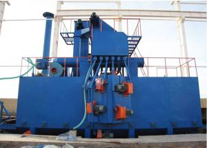 China Metal Shot H Beam Production Line Blasting Cleaning For Steel Profile 800X1600mm on sale