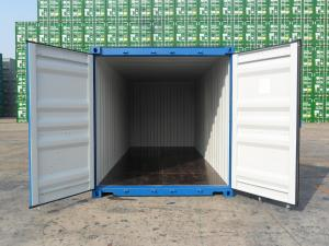 China 20' X 8' X 8'6 Cargo Shipping Container Steel Dry 1 Pair Of Forklift Pocket on sale