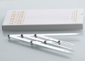 China Flexible Stylish Eyebrow Shaping Tool Golden Ratio / Mean Caliper Divider on sale