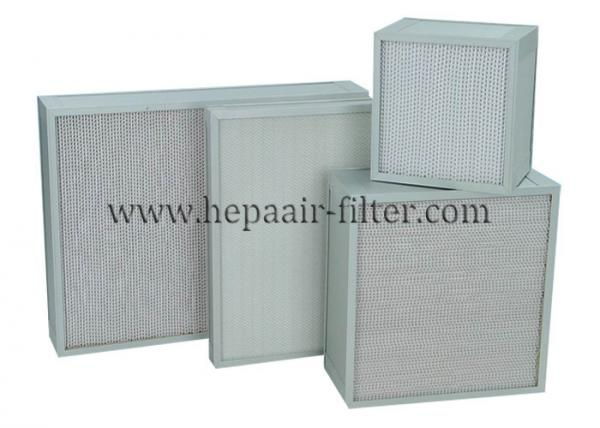 High Airflow Clean Room Air Filter Air Purifier , 0.3 Micron Absolute Hepa  Images