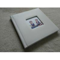 China 16x12 Luxury Leather Large Photo Albums For Family / Birth Anniversary on sale