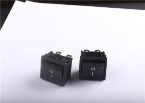 China Black ON OFF Rocker Switch 16A 250VAC With -25~85 Degree Operating Temperature on sale