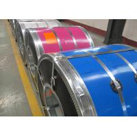 China Building Material PPGI Color Coated Steel Coil Zinc Coating Z03-Z18 For Door Panel on sale