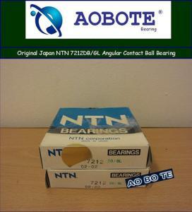 China High Precision NTN Ball Bearings ,7212 DB/GL Angular Contact Bearings on sale