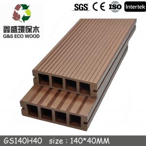 China High Quality Wpc Flooring/decking,Hot Sale High Strength Outdoor Wpc Decking Floor/140mm*25mm Outdoor Wpc Decking on sale