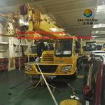 Construction Telescopic Boom Crane , 30 Ton Hydraulic Mobile Truck Crane QY30K5-I