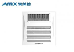 China 6 Inch Ceiling Mounted Ventilation Fan With Heater , Bathroom Exhaust Fan And Heater on sale