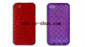 China Fashion design pattern IPhone 4 / 4s silicone case C, mobile phone silicone cases on sale