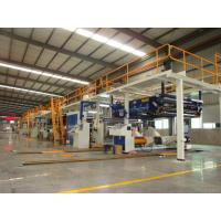China Corrugated Cardboard Making Machine 1600mm Two Layer Stable Operation on sale