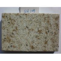 Artificial Kitchen / Bathroom Vanity Countertops 93% Natural Quartz Material
