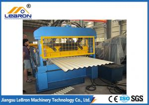 China PLC System Roofing Corrugated Sheet Roll Forming Machine 7.5kW Full Automatic Type on sale
