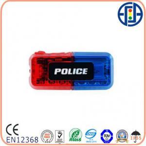 China Police Shoulder Wear Red Blue LED Warning Light on sale