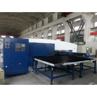Electronic CNC Punching Machine , Metal Pipe Punching Machine
