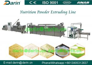 China Nutrition Grains Rice Powder Food Extruder Machine / Production Line on sale