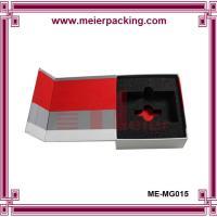 China Custom printed paper box with EVA insert, magnetic closure photo album box ME-MG015 on sale