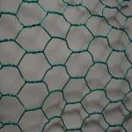 PVC Coated Hexagonal Gabion Wire Mesh Panels Firm Structure For Chicken / Rabbit