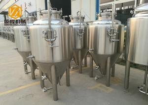 China Bright Color Beer Stainless Steel Tank 100L Glycol / Alcohol Water Cooling supplier