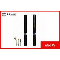 650mah Ego W Electronic Cigarette Atomizer Kit Eco Friendly