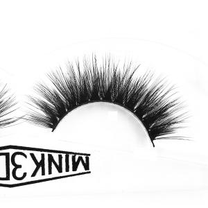 China Siberian Wispy Natural Mink Lashes Cruelty Free 3d Individual Lashes For Party on sale