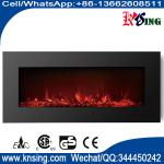 50 elecric fireplace WF-50 wall mounted real coal black glass best home choice heater