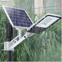 China 6500K Waterproof Solar Powered LED Street Lights High Power Garden Lighting 60W on sale