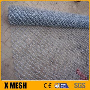 China 5-ft x 50-ft Galvanized Steel Chain-Link Fence Fabric on sale