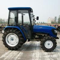 4×4 Wheeled Type Diesel Farm Tractors , 55hp Farm Mini Farm Tractor OEM Brand