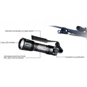 China Customized Rifle Rechargeable Cree R2 Led Laser Flashlight Weapon Light For Sniper on sale