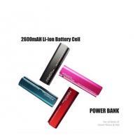 China 600mAh Mini Universal USB Power Portable External Backup Battery Power Bank Aluminum Alloy on sale
