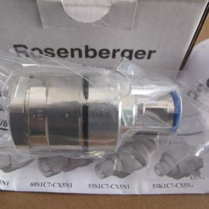China Quick Combinations Rosenberger RF Connectors , Coaxial Aerial Connector 0 - 11 GHz on sale