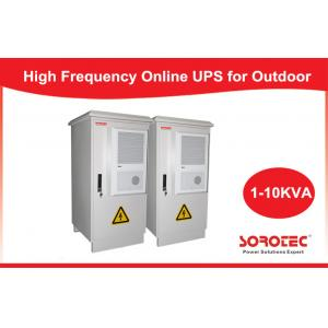 China Outdoor Integrated UPS / Online UPS for Telecom / Network , 50/60HZ Frequency on sale