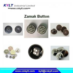 China Zamak 5 zinc alloy die casting metal button making machine on sale