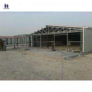 China light steel structure prefabricated house steel warehouse structure on sale