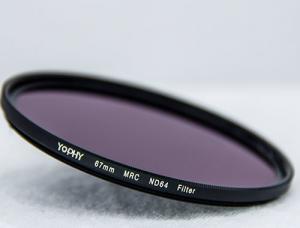 China 67mm ND Camera Lens Filter Multi Layer Coating AGC Glass Good Effect For Digital Camera Photography on sale