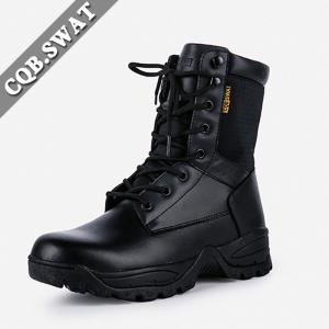 China Anti-crack Mens Work Boots, Wholesale Long Riding Boots, Shoelace Lacing  System Rubber Boot on sale