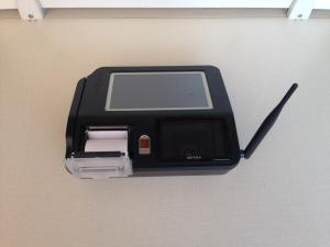 China 58mm Paper Print Mobile POS Terminal , Restaurant / Bar POS Terminal Mobile Payments Solutions on sale