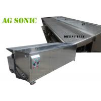 Automatic Dual Tank Ultrasonic Blind Cleaning Machine With Air Suspension
