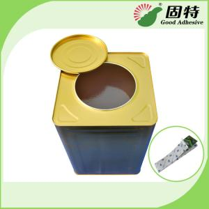 China Yellow and semi-transparent Rubber-like solid Hot melt adhesive Fly catching paper & board hot melt glue adhesive on sale