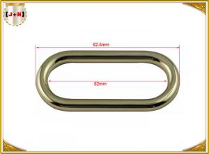 China Metal Handbags / Purse Rectangular O Ring , Bag Making Supplies Hardware on sale